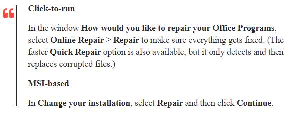 microsoft auto repair tool